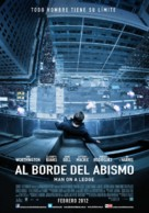 Man on a Ledge - Argentinian Movie Poster (xs thumbnail)
