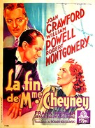 The Last of Mrs. Cheyney - French Movie Poster (xs thumbnail)