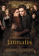 The Twilight Saga: New Moon - Lithuanian Movie Poster (xs thumbnail)