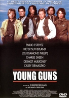 Young Guns - French DVD cover (xs thumbnail)