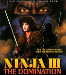 Ninja III: The Domination - Blu-Ray cover (xs thumbnail)