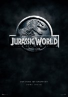 Jurassic World - German Movie Poster (xs thumbnail)