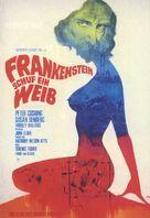 Frankenstein Created Woman - German Movie Poster (xs thumbnail)