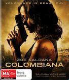 Colombiana - Australian Blu-Ray cover (xs thumbnail)