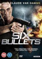 6 Bullets - British DVD movie cover (xs thumbnail)