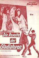 Dieci gladiatori, I - German poster (xs thumbnail)