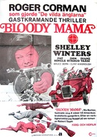 Bloody Mama - Swedish Movie Poster (xs thumbnail)
