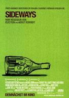 Sideways - German Movie Poster (xs thumbnail)