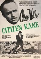 Citizen Kane - Swedish Movie Poster (xs thumbnail)