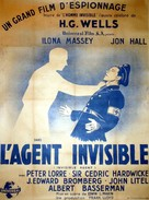 Invisible Agent - French Movie Poster (xs thumbnail)