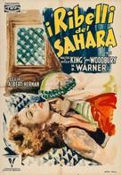 A Yank in Libya - Italian Movie Poster (xs thumbnail)