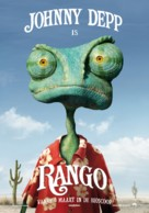 Rango - Dutch Movie Poster (xs thumbnail)