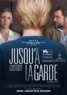 Jusqu'à la garde - Dutch Movie Poster (xs thumbnail)