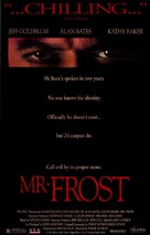 Mister Frost - Movie Poster (xs thumbnail)