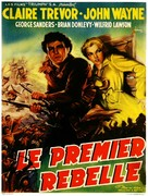 Allegheny Uprising - French Movie Poster (xs thumbnail)