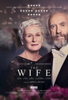 The Wife - Danish Movie Poster (xs thumbnail)
