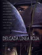 The Thin Red Line - Spanish Movie Poster (xs thumbnail)