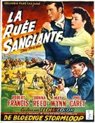They Rode West - Belgian Movie Poster (xs thumbnail)