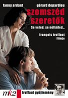 La femme d'à côté - Hungarian DVD cover (xs thumbnail)