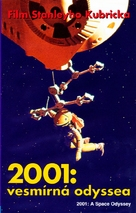 2001: A Space Odyssey - Czech VHS movie cover (xs thumbnail)