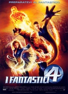 Fantastic Four - Italian Movie Poster (xs thumbnail)