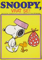 Snoopy Come Home - Czech Movie Poster (xs thumbnail)