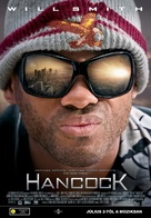 Hancock - Hungarian Movie Poster (xs thumbnail)