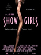 Showgirls - Spanish Theatrical poster (xs thumbnail)