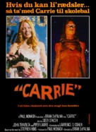 Carrie - Danish Movie Poster (xs thumbnail)