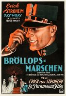 The Wedding March - Swedish Movie Poster (xs thumbnail)
