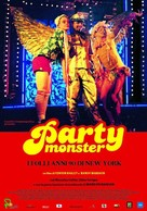 Party Monster - Italian Movie Poster (xs thumbnail)