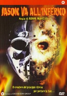 Jason Goes to Hell: The Final Friday - Italian DVD cover (xs thumbnail)