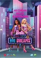 Barbie: Big City, Big Dreams - French Movie Poster (xs thumbnail)