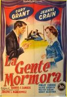 People Will Talk - Italian Movie Poster (xs thumbnail)