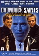 The Boondock Saints - Australian DVD movie cover (xs thumbnail)