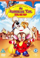 An American Tail: Fievel Goes West - British Movie Cover (xs thumbnail)