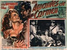 The Loves of Carmen - Mexican Movie Poster (xs thumbnail)