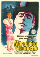Marguerite de la nuit - Spanish Movie Poster (xs thumbnail)