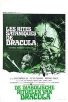 The Satanic Rites of Dracula - Belgian Movie Poster (xs thumbnail)