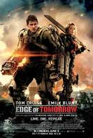 Live Die Repeat: Edge of Tomorrow - Lebanese Movie Poster (xs thumbnail)