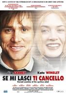Eternal Sunshine Of The Spotless Mind - Italian Movie Poster (xs thumbnail)
