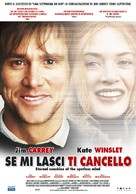 Eternal Sunshine of the Spotless Mind - Italian Movie Poster (xs thumbnail)