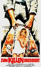 The No Mercy Man - German VHS cover (xs thumbnail)