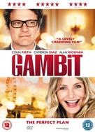 Gambit - British DVD movie cover (xs thumbnail)