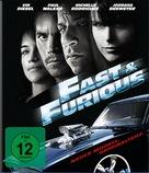 Fast & Furious - German Blu-Ray cover (xs thumbnail)