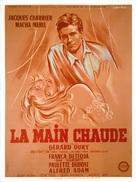 La main chaude - French Movie Poster (xs thumbnail)