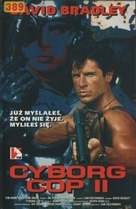 Cyborg Cop II - Polish VHS cover (xs thumbnail)