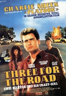 Three for the Road - German Movie Poster (xs thumbnail)