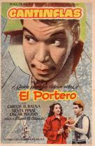 El portero - Spanish Movie Poster (xs thumbnail)