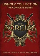 """The Borgias"" - DVD cover (xs thumbnail)"